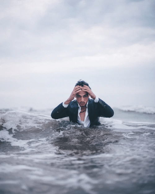 Studies Show Stress May be The Cause of Your Health Problems - image stress-underwater on https://www.drlisaowen.com
